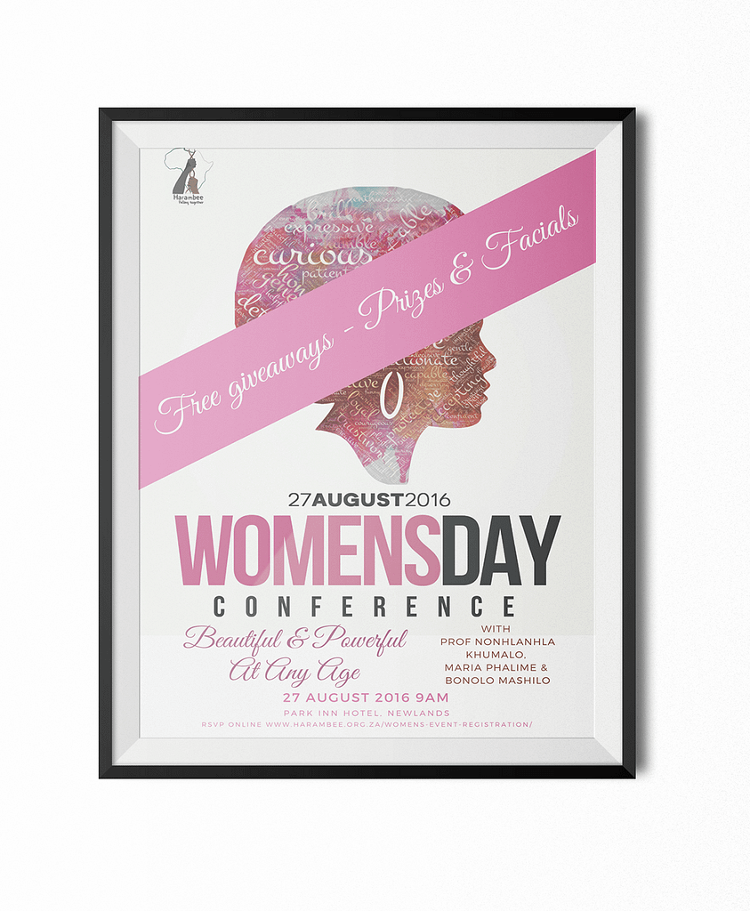 Poster for Women's Day Event